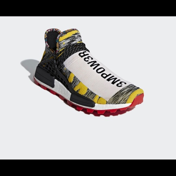 """competitive price 90066 5d718 Pharrell human race Afro pack """"Red"""" NWT"""